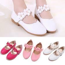 Girls Princess Shoes Toddler Baby Girl Kid Children Solid