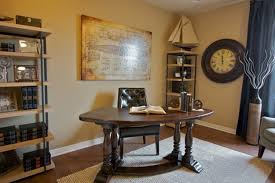 rustic home office ideas. Home Officevintage Office Decor Rustic. Decoration Midcentury Desc Bankers Chair Brown Corner Bookcases Rustic Ideas