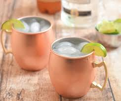 clic moscow mule made with vodka ginger beer and lime juice tart and