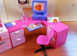 barbie doll furniture plans. Barbie Doll Furniture Plans Free Play House Office Computer Desk Copier For Accessories In Dolls From Toys H