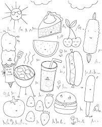 Summer Coloring Pages For Kindergarten Trustbanksurinamecom