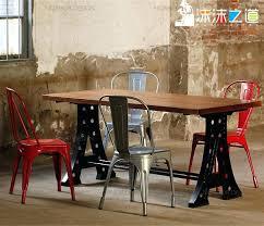 retro style dining table free retro style cafe mining iron rectangular wood dining table table retro style dining table new style round