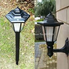 solar floor lamp style solar powered led light waterproof garden road path lawn floor lamp ground