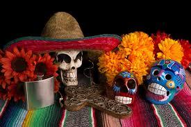 dia de los muertos day of the dead alter diy marigolds