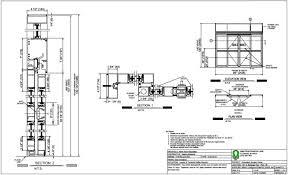 sliding door hardware cad details
