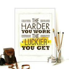 inspirational posters for office. Inspirational Posters For Office. Modern Motivational Typography Work Lucky Quotes A4 Big Art Print Poster Office S