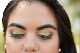 pop of green eyeshadow let s fall in love