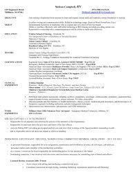 Nursing Resume Non Hospital Version