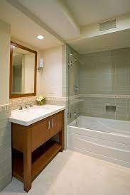 bathroom chair rail designs. bathroom chair rail contemporary with clear glass cynthia bennett designs