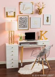 desk ideas for bedrooms. Interesting Ideas Home Decorating Ideas Bedroom Office Decor White Office Desk Blush Pink  Wall Gallery Acrylic Chair Throughout Desk For Bedrooms N
