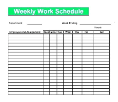 Printable Work Schedule Templates Free Free Printable Work Schedule Template Free Printable Work Schedule