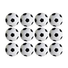Mini Soccer Ball Decorations Stunning Amazon Table Soccer Foosballs Replacements Mini Black And White