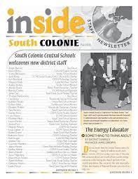 Fall 2006 (pdf) - South Colonie Central Schools