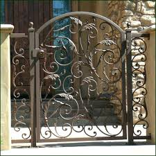 Decorative Metal Gates Design Enchanting Iron Entry Gate Designs Wrought Iron Gates And Custom Designs