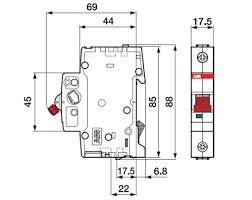 BMS411C20 <b>ABB</b> Basic M Автоматический <b>выключатель</b> 1P, 20A ...