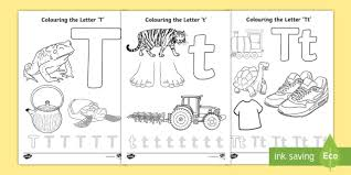 Download this free vector about english alphabets in many colors, and discover more than 11 million professional graphic resources on freepik. Free Letter T Colouring Pages Teacher Made