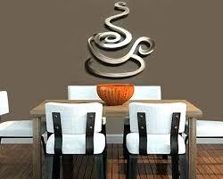metal coffee decor metal coffee cup wall decor for kitchen large red metal coffee cup wall
