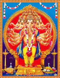 Panchamukhi Ganesha - Poster