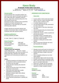 Academic Resume Template For Grad School – Brianhans.me