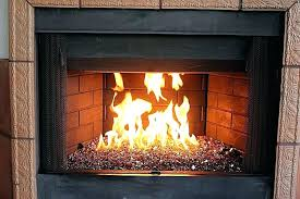 outdoor fireplace glass rocks decorating styles traditional outdoor fireplace glass rocks s decorating small spaces
