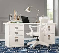 pottery barn bedford rectangular office desk. Bedford Rectangular Desk Set; Set Pottery Barn Office