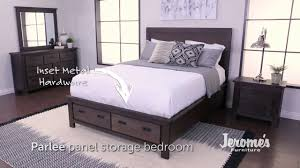 Jerome's Furniture | Parlee Bedroom Set - YouTube