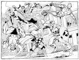 Disegni Da Colorare Avengers Fredrotgans