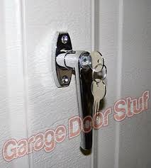 garage door lockGarage Door Lock  L  HANDLE ASSEMBLY  Two Keys included NEW  eBay
