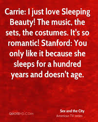 Beauty Of Music Quotes Best of Sex And The City Quotes QuoteHD