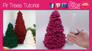 Crochet Christmas Tree Pattern Simple Christmas Tree Pattern Tutorial The Crochet Crowd