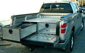 sliding truck bed tool box roll out tool box sliding truck tool box slide out tool