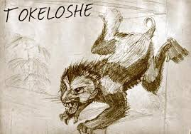 adze vampire. the tikoloshe is an african vampire that looks like a baboon. vampire-creature found in folklore of xhosa people lisotho adze