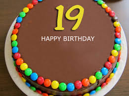 Happy 19th Birthday Cake With Name Editor 2happybirthday