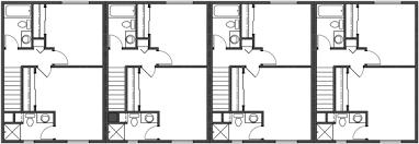 Fourplex Plans  Quadplex  4plex Plans  PlanSource IncQuadplex Plans