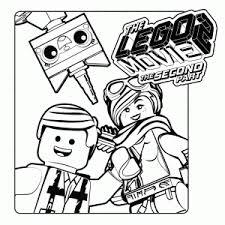 Kleurplaten Van The Lego Movie De Lego Film 2 Leuk Voor Kids