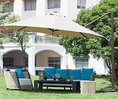 cantilever patio frontgate european side mount 11 patio patio umbrella