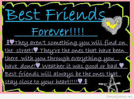 Friends Forever Quotes Best friends forever quotes images and friends wallpapers 89