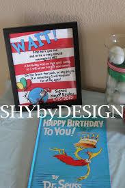 Dr Seuss Party Decorations Dr Seuss Party Part 4 Invitations Extra Details Shybydesign