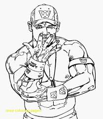 John Cena Coloring Pages At Getdrawingscom Free For Personal Use