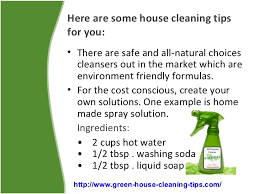 ... 2. Here are some house cleaning ...