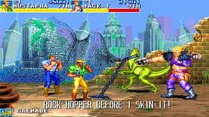 one of the best old game cadillacs and dinosaurs