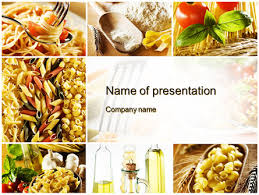 Powerpoint Templates Food Cooking Pasta Powerpoint Template Backgrounds 10250