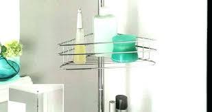 metal glass shelves walnut free standing shelving metal etagere glass shelves