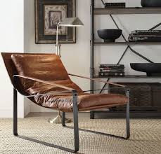 quoba cocoa leather accent chairgallery image hover for zoom