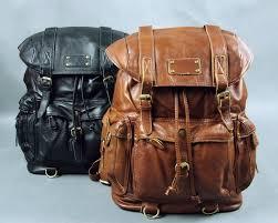 leather satchel backpack