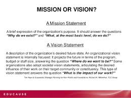 my vision statement sample mission vision and plans oh my