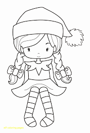Christmas Elf On The Shelf Coloring Pages Elegant 25 Unique Elf The