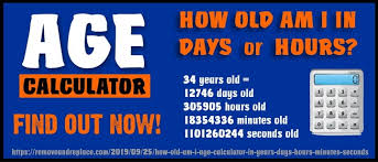How Old Am I Age Calculator In Years Days Hours