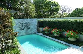 Small Picture Pool Garden Design Swimming Pool Landscaping Beauteous Swimming