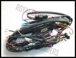 royal enfield new complete wiring harness 12v image is loading royal enfield new complete wiring harness 12v